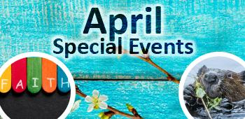 April Flyer Cover