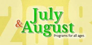 July - August Flyer Cover